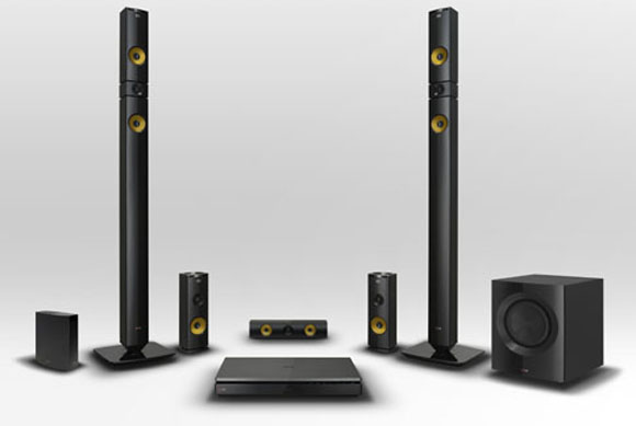 LG 2013 Home Theater 5 channel plus sub