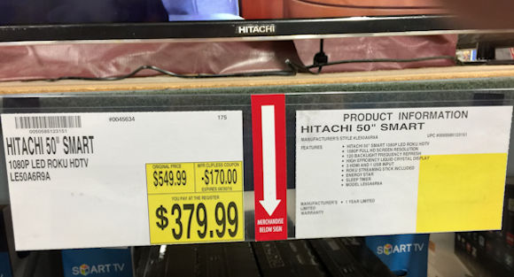 Hitachi To Sell Integrated Roku TVs This Fall