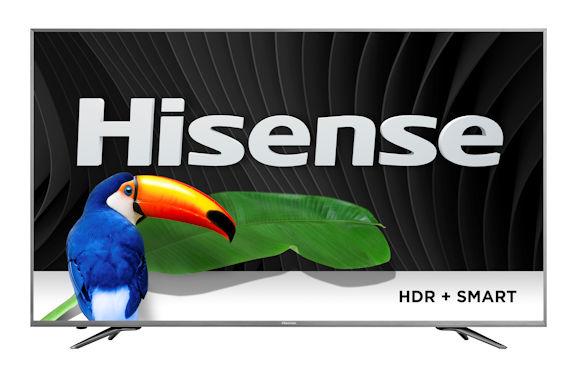 Hisense H9D, H9D+, H7D, H6D 4K Ultra HDTVs Hit Stores