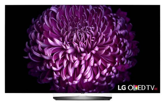 LG Launches New `B7A' Lower-Priced 4K UHD OLED TV Series