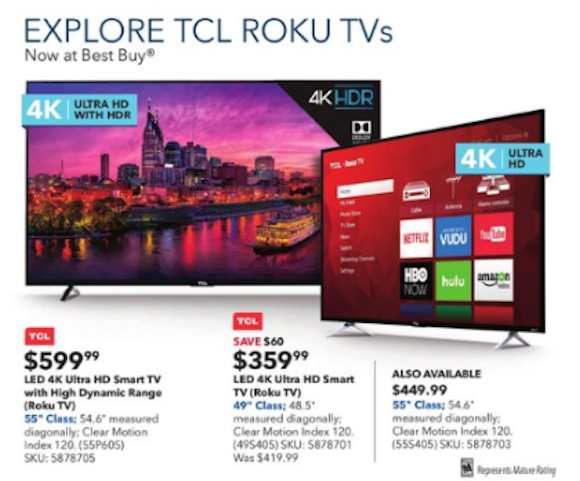 Tcl Reaches No 2 Ranked Us Tv Brand In September Hd Guru