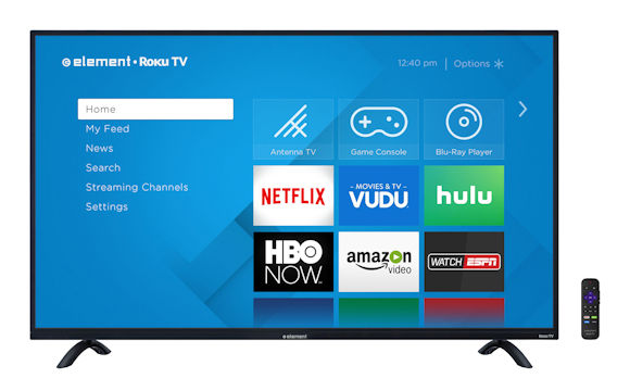 Element 4K Roku TV To Launch Through Walmart Nov. 27th