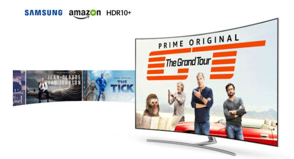 Amazon Launches First Content Using Samsung's HDR10+