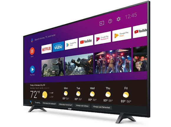 Funai 4K Android TVs Add Google Assistant AI