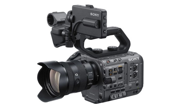 Sony Unveils Compact FX6 4K/HDR Cinema Camera